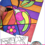 Interactive Coloring Pages For Adults New Photos Free Back To School Activity To Easily Integrate Art Into
