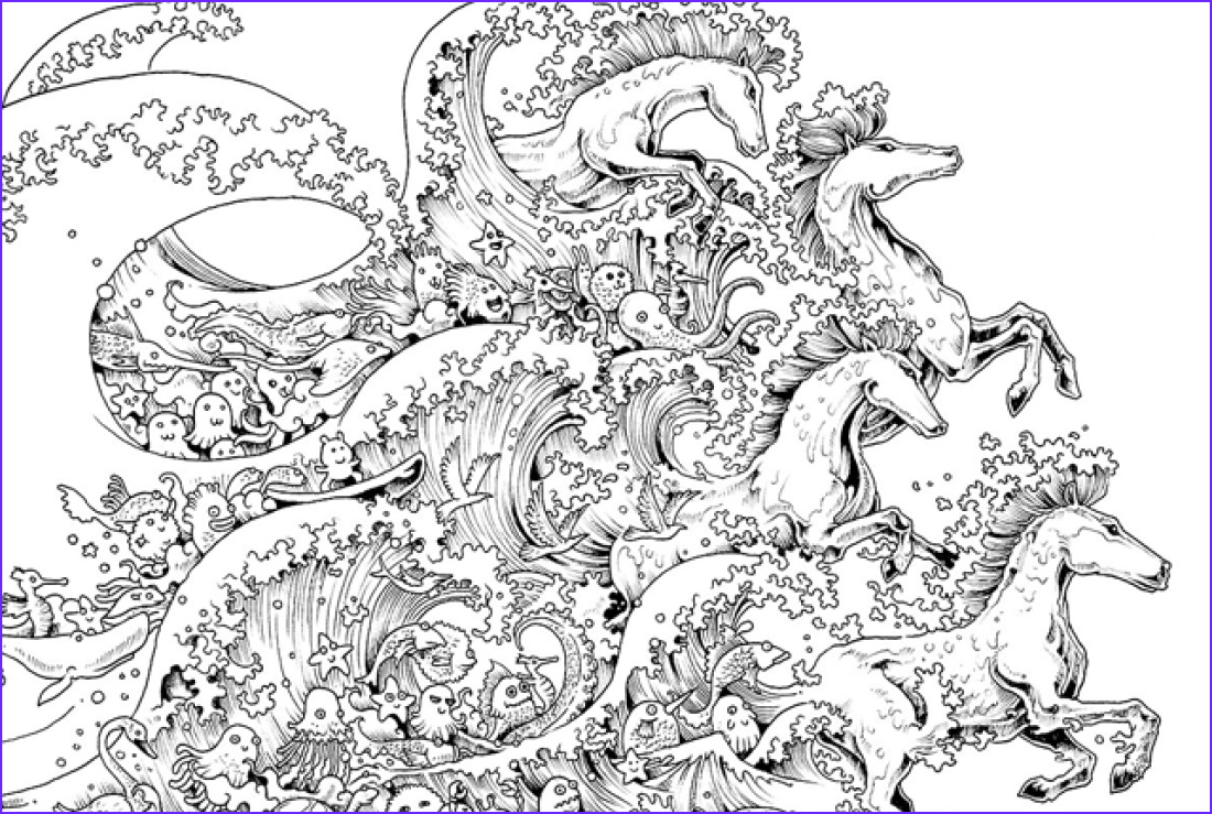 Intricate Coloring Book Beautiful Photography 10 Intricate Adult Coloring Books to Help You De Stress