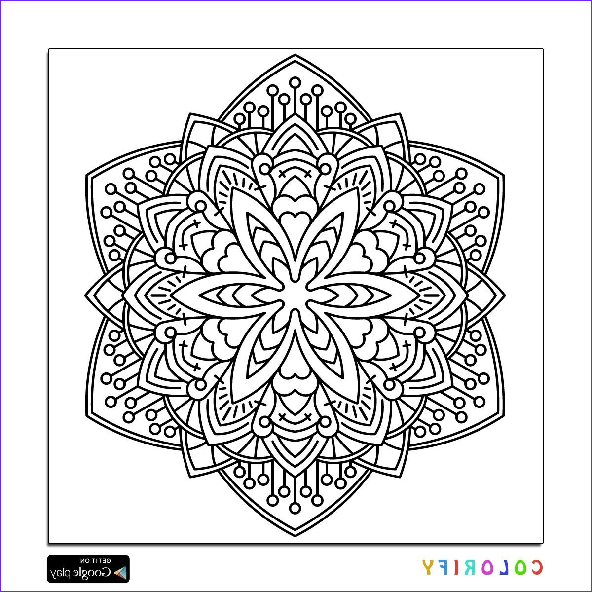 Intricate Coloring Book Beautiful Photography 29 Intricate Mandala Coloring Pages Collection Coloring