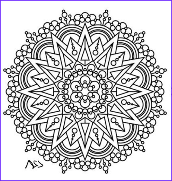 Intricate Coloring Book Elegant Photos Items Similar to Mandala Adult Coloring Page 46 On Etsy
