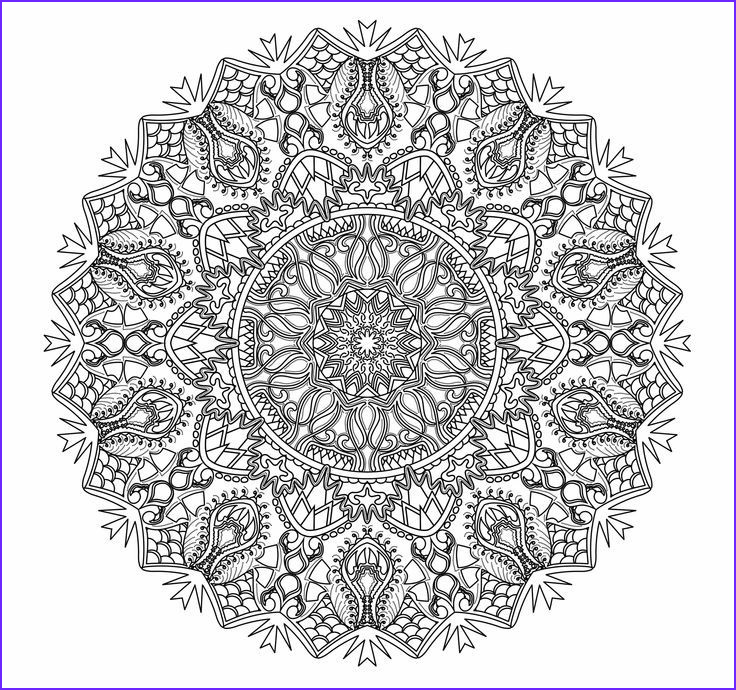 Intricate Coloring Book Inspirational Gallery Mandalas to Color Intricate Mandala Coloring Pages
