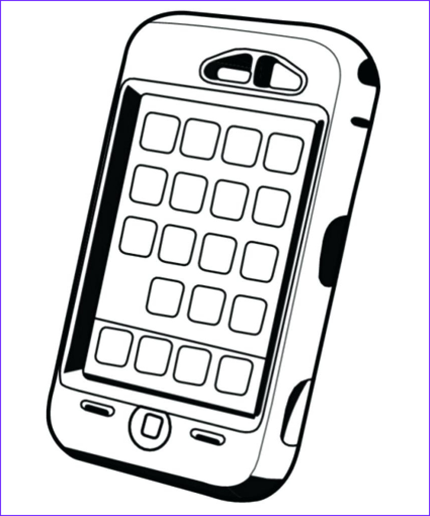 iPhone Coloring Pages Best Of Photos iPhone Coloring Pages Printable