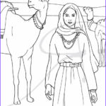 Isaac And Rebekah Coloring Pages Beautiful Collection Coloring Coloring Pages And Ink Illustrations On Pinterest