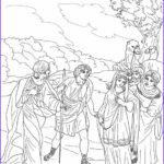 Isaac And Rebekah Coloring Pages Beautiful Collection Isaac First Meets Rebekah Coloring Pages