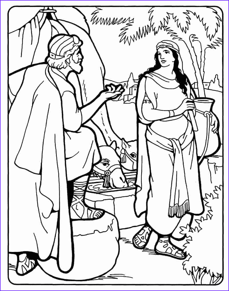 abraham finds wife isaac making it simple
