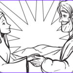 Isaac And Rebekah Coloring Pages Beautiful Images The Love Story About Isaac And Rebekah Es From Genesis