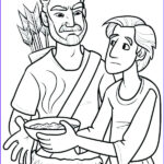 Isaac And Rebekah Coloring Pages Cool Photos Isaac And Rebekah Coloring Page At Getcolorings