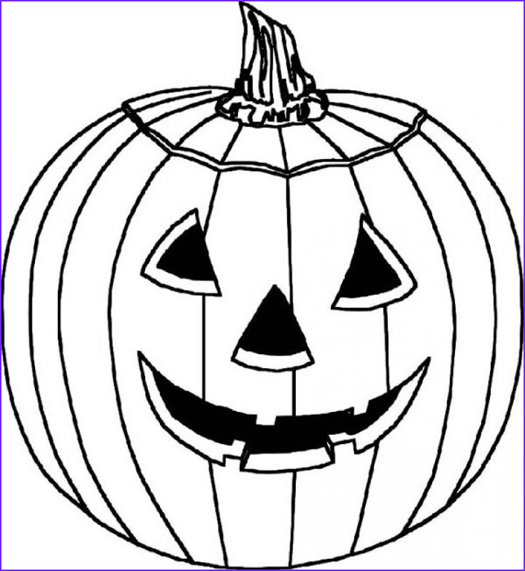 jack o lantern coloring pages to print