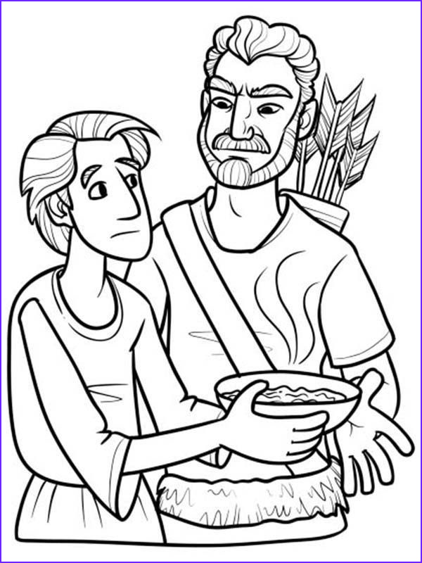 Jacob And Esau Coloring Pages Luxury Image Jacob And Esau Coloring Pages Coloring Page