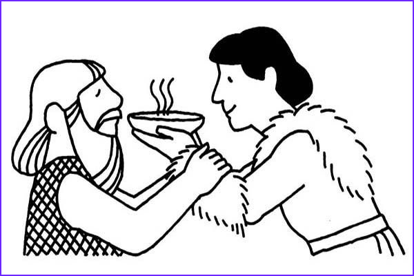 Jacob And Esau Coloring Pages New Gallery Jacob Fered Esau A Bowl Of Stew In Jacob And Esau