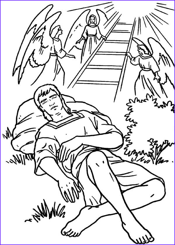 Jacob And Esau Coloring Pages Unique Gallery Jacobs Ladders And Angels In Jacob And Esau Coloring Page