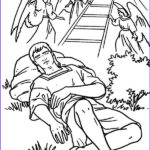 Jacob's Ladder Coloring Page Beautiful Photos Jacobs Ladders And Angels In Jacob And Esau Coloring Page