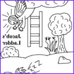 Jacob's Ladder Coloring Page Best Of Images Jacob And Esau
