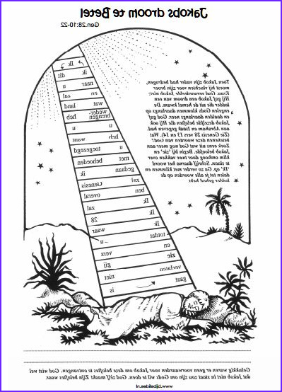 Jacob's Ladder Coloring Page Best Of Photos 148 Best Images About ВШ Авраам Иаков Лот On Pinterest