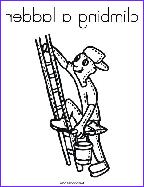 Jacob's Ladder Coloring Page Elegant Photography Ladder Line Drawing at Getdrawings