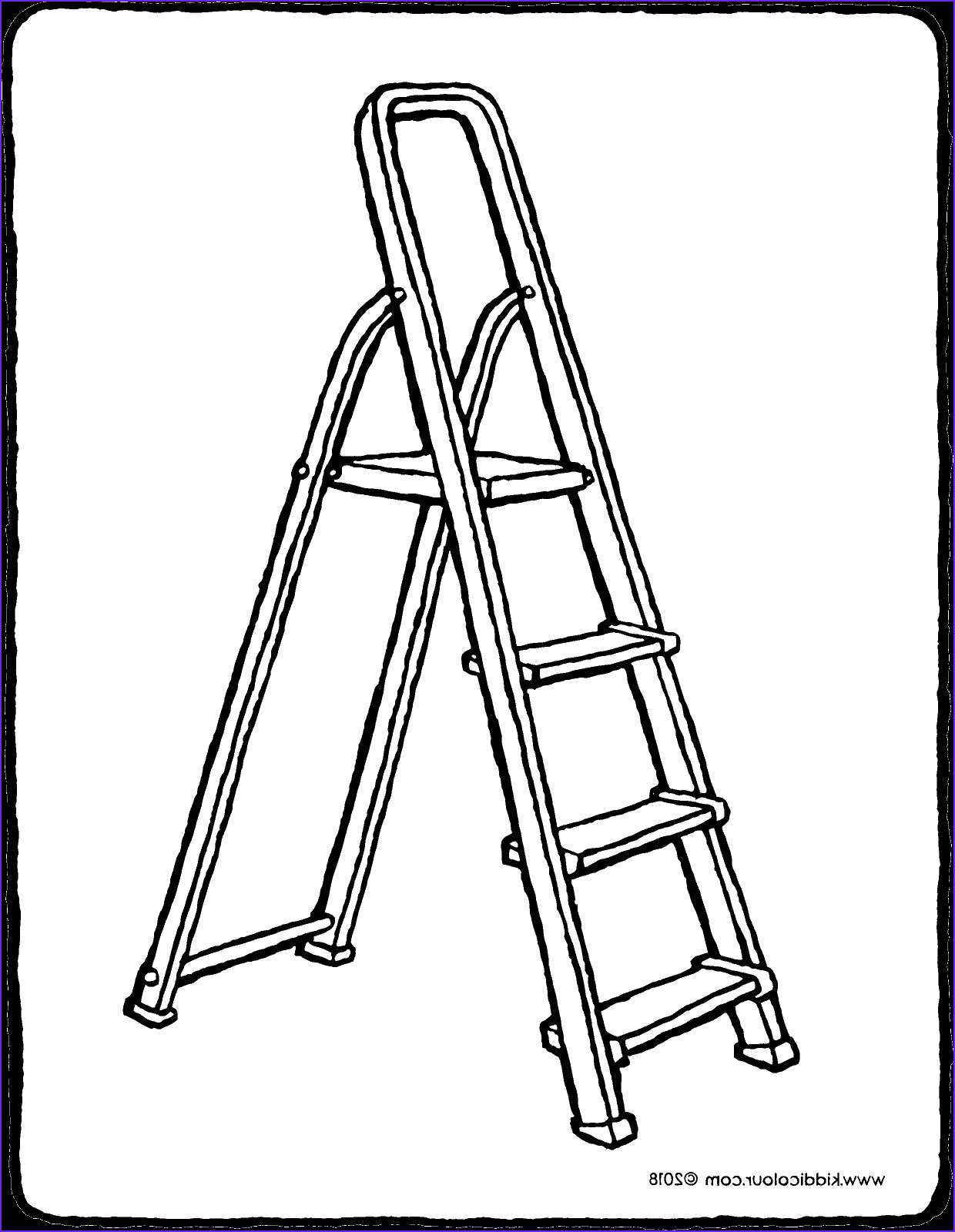 Jacob's Ladder Coloring Page Luxury Collection Ladder Kiddicolour