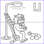 Jacob's Ladder Coloring Page Unique Gallery Letter L Coloring Page Lion Lemons Lamp Ladder Lick