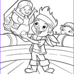 Jake And The Neverland Pirates Coloring Pages Awesome Images Jake And The Never Land Pirates Coloring Picture