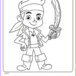Jake And The Neverland Pirates Coloring Pages Awesome Images Kids N Fun