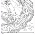 Jake And The Neverland Pirates Coloring Pages Luxury Collection Kids N Fun