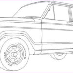 Jeep Coloring Pages Awesome Photos Classic Wagoneer For The Jeep Coloring Book