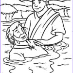 Jesus Baptism Coloring Page Awesome Gallery Jesus Baptism Free Coloring Pages