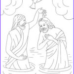 Jesus Baptism Coloring Page Beautiful Collection Nicole S Free Coloring Pages Jesus Loves Me Bible