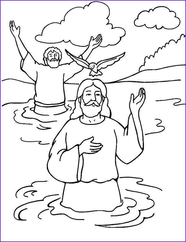 wel ing holy spirit in baptism of jesus coloring pages