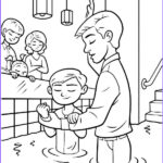Jesus Baptism Coloring Page Cool Photos Jesus Baptism Free Coloring Pages