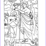 Jesus Baptism Coloring Page New Gallery 52 Jesus Being Baptized Coloring Page Wel Ing Holy