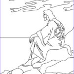 Jesus Christ Coloring Pages Inspirational Image Jesus And The Mount Of Olives Coloring Pages Hellokids