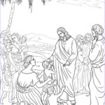 Jesus Coloring Book Awesome Gallery Jesus With Little Children Coloring Page Coloring Home
