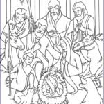 Jesus Coloring Book New Photos Joyful Mysteries Rosary Coloring Pages The Catholic Kid