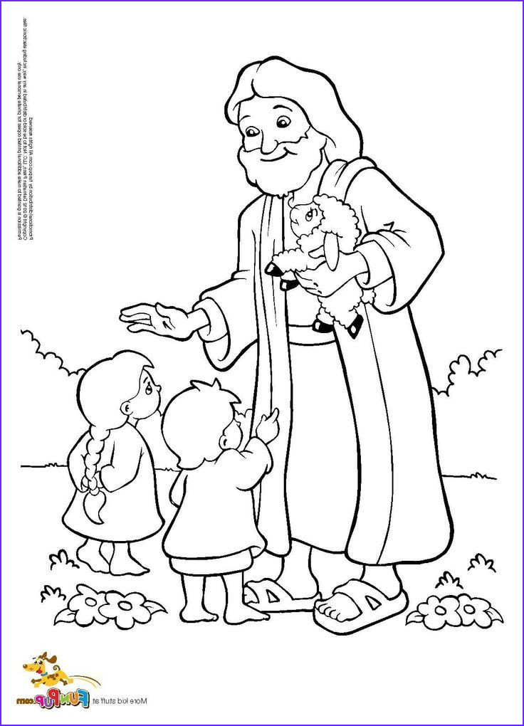 Jesus Coloring Pages for Kids Beautiful Photos Jesus and Kids Coloring Page