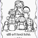 Jesus Coloring Pages For Kids Beautiful Photos Jesus Loves The Little Children Coloring Pages Printable