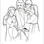 Jesus Coloring Pages For Kids Inspirational Images Christ With Children Coloring Page