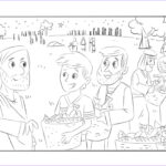Jesus Feeding 5000 Coloring Page Unique Stock Jesus Feeds The 5000 Free Coloring Pages