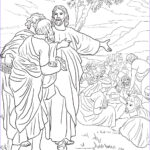 Jesus Feeds 5000 Coloring Pages Beautiful Photos Jesus Feeds The Multitude With Fish And Bread Coloring