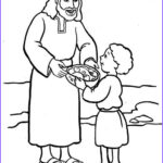 Jesus Feeds 5000 Coloring Pages Best Of Images Jesus Feeds 5000 Bible Class Ideas
