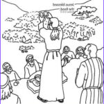 Jesus Feeds 5000 Coloring Pages Luxury Collection Jesus Feeds The Five Thousand Bible Coloring Card