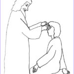Jesus Heals The Blind Man Coloring Pages Luxury Photos Jesus Heals Blind Man Coloring Page