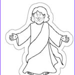 Jesus Resurrection Coloring Pages Awesome Image The Resurrection Of Jesus
