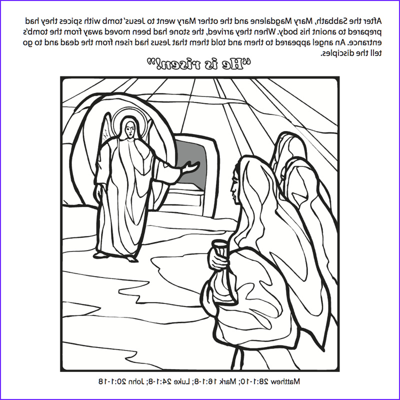 Jesus Resurrection Coloring Pages Awesome Photography the Crucifixion & Resurrection Of Jesus origami Coloring