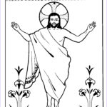 Jesus Resurrection Coloring Pages Beautiful Photos Children S Fellowship Easter Coloring Pages The