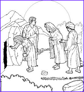 Jesus Resurrection Coloring Pages Best Of Stock Coloring Page Of Empty tomb Of Jesus after Resurrection Of