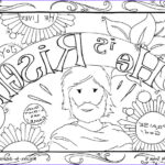 Jesus Resurrection Coloring Pages Inspirational Collection He Is Risen Coloring Pages