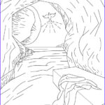 Jesus Resurrection Coloring Pages Luxury Gallery Christian Easter Coloring Pages