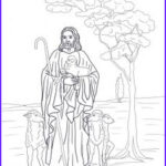 Jesus The Good Shepherd Coloring Page Awesome Photos Imagens Sacras On Pinterest