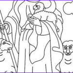 Jesus The Good Shepherd Coloring Page Beautiful Images Jesus Is The Good Shepherd Bible Coloring Page