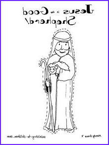 Jesus the Good Shepherd Coloring Page Best Of Images Preschool Bible Lessons On Pinterest